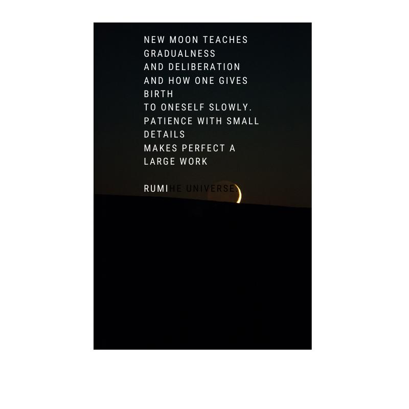 New moon quote