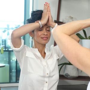 single yoga session